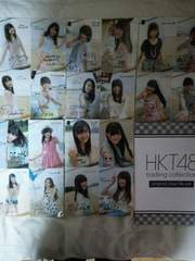 HKT48 trading collection オリジナル クリアファイル♪