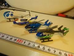 ヘリコプター、4機、まとめ、