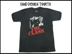 新品 The Clash ざークラッシュ バンドデザインT-シャツ【L】