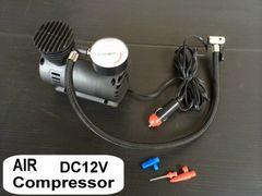 DC12V用 超小型エアコンプレッサー