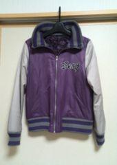 ☆インタープラネットSexy スカジャン☆紫38<美品>
