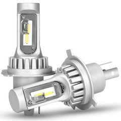 H4 LED ヘッドライト HI/LO 切り替え ファンレス 6000K