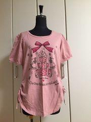 ★アンドラブ★アニバーサリーTシャツ★ピンク★LL