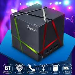Bluetoothスピーカー重低音 LEDライト搭載 ★バカ売れ商品