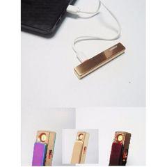 電子ライター USB充電式 ゴールド プレゼント等に適した