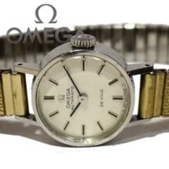 極レア 1スタ★オメガ/OMEGA【自動巻き】アンティーク腕時計