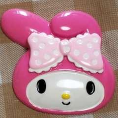 BIGパーツ ☆ A ☆ マイメロ ( ピンク ) フェイス ☆ 約 6.5 cm