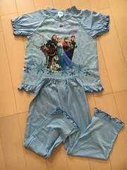 アナ雪半袖長ズボンふりふりパジャマ110�p