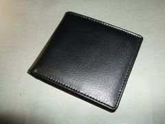 7cc53e749176 男性ファッション 二つ折り財布・レザー(黒)の新品・中古商品 | 新品 ...