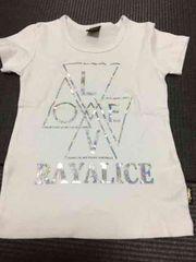 新品RAYALICEオーロラプリTシャツ120