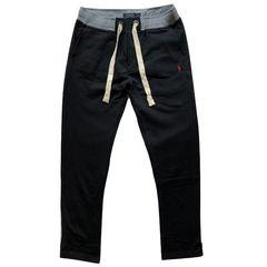 『ポロラルフローレン』 スウェットパンツ A/ブラック/XL