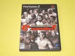 PS2★即決★K-1 PREMIUM 2004 Dynamite★箱説付★アクション