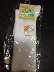 新品☆13-15cm☆白ハイソックス