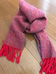 ブランド羊毛マフラー男女