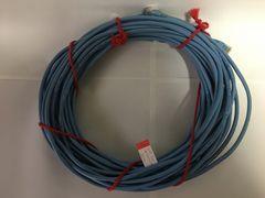 ■LANケーブル CAT5e LANケーブル 20m ブルー クロスケーブル