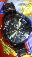 XINKAIQUARTZクオーツ腕時計超ビックフェイスビックケースコーティングガラス