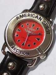 ZIPPO 腕時計 アメリカン スピリッツ プレシジョン 中古品 可動品