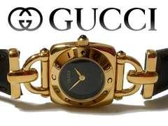 極美品 1スタ★グッチ/Gucci 定価8万!!!! 6300L 高級腕時計