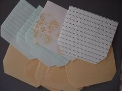 ハンドメイド 横型ぽち袋7×10cm 10枚