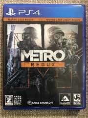 メトロリダックス 美品 METRO REDUX PS4
