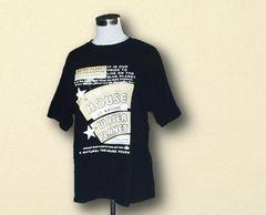 新品英字ブラックTシャツLL大きいサイズ