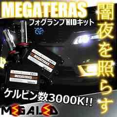 超LED】ノートe-power HE12系/フォグランプHIDキット/H8/3000K