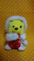 即決 クマのプーさん クリスマス マスコット ディズニー