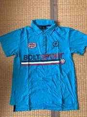 BOLT SPORT 半袖ポロシャツ 160