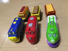 (^^p[チャギントン/おもちゃ3台セット]q