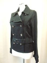 【Jasper Minx】黒のジャケットコートです