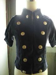 新品◆ナポレオンjacket◆ネイビー系◆
