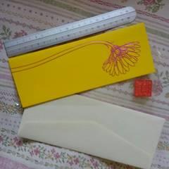 新品♪素敵なガーベラのマニエールカード♪定形サイズ♪美品グリーティングカード