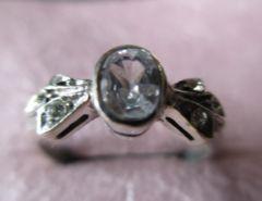 Silver925    シルバー指輪, キュービックジルコニア   12号