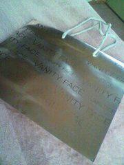 E:VANITYFACEショップ袋[おまけ有]★シルバー大人女子必見