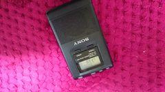SONY デジタル液晶AM FMラジオ