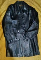 革ジャケットコート メンズL 羊革
