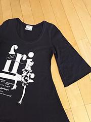 SLY☆七分袖Tシャツ♪ブラック