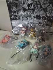 新品 聖闘士星矢Ω オメガ セイントフィギュア ストラップ!7種類セット!ノーマルコンプ