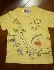 ☆新品☆アンパンマンのTシャツ☆背当て部分冷感素材☆