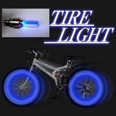 LEDホイールライト青 2個1組 激安出品!!