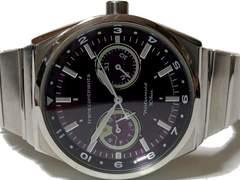 美品☆1スタ☆トランスコンチネンツ【秒針が飛行機ロゴ】 腕時計