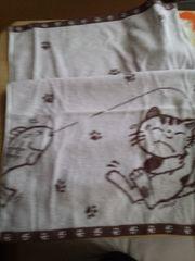 今治産タオル猫柄フィッシュ猫