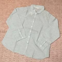SM2*ピンタック丸襟シャツ