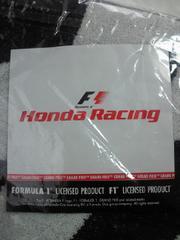 自動車 F1 ホンダ Honda Racing バスタオル スポーツタオル ホワイト ブラック
