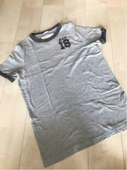 アバクロンビー&フィッチ★直営店購入正規本物used加工Tシャツ