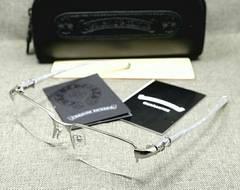 chrome hearts メガネフレーム BONE POLISHR III WH 限定激安出品!
