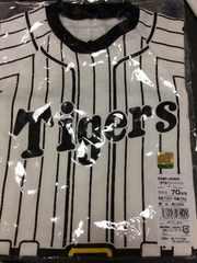 新品!阪神タイガース半袖ロンパース!70センチ
