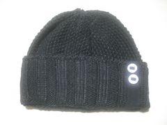 wb695 ROXY ロキシー ニット帽 ビーニー 黒