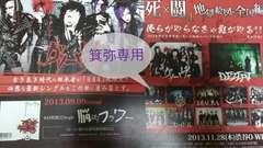 2010〜13年フライヤー3枚◆前身バンド有即決