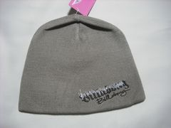 wb267 女 BILLABONG ビラボン ニット帽 カーキ